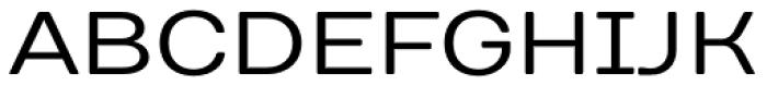 TT Days Sans Regular Font UPPERCASE