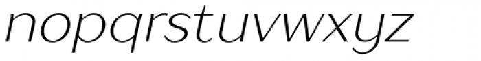 TT Drugs Light Italic Font LOWERCASE