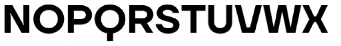 TT Firs Neue Demi Bold Font UPPERCASE