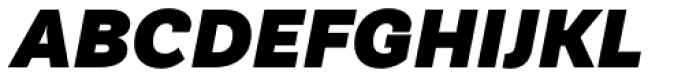TT Hazelnuts Black Italic Font UPPERCASE