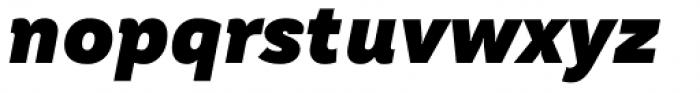 TT Hazelnuts Black Italic Font LOWERCASE