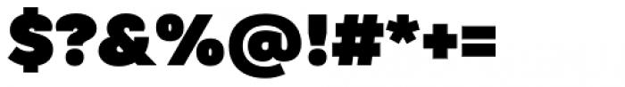 TT Hazelnuts Heavy Font OTHER CHARS