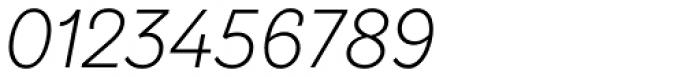 TT Hazelnuts Light Italic Font OTHER CHARS