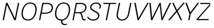 TT Hazelnuts Light Italic Font UPPERCASE