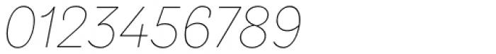 TT Hazelnuts Thin Italic Font OTHER CHARS