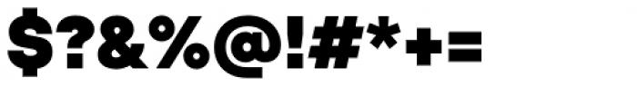 TT Hoves Black Font OTHER CHARS