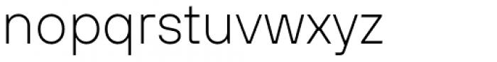 TT Hoves Extra Light Font LOWERCASE