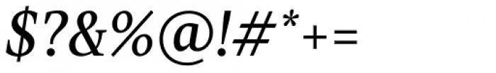TT Jenevers Italic Font OTHER CHARS