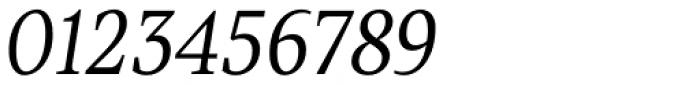 TT Jenevers Light Italic Font OTHER CHARS