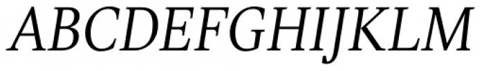 TT Jenevers Light Italic Font UPPERCASE