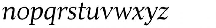 TT Jenevers Light Italic Font LOWERCASE