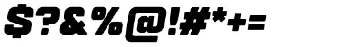 TT Lakes Black Italic Font OTHER CHARS