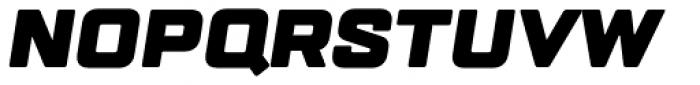 TT Lakes Black Italic Font UPPERCASE