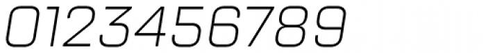 TT Lakes Light Italic Font OTHER CHARS