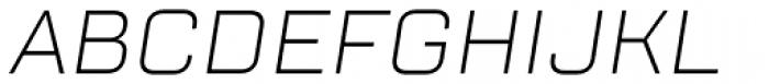 TT Lakes Light Italic Font UPPERCASE