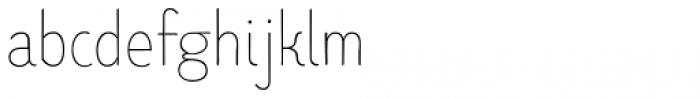 TT Limes Sans Thin Font LOWERCASE
