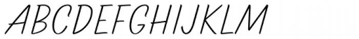 TT Marks Light Font UPPERCASE