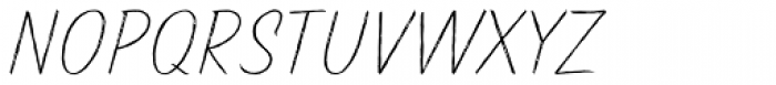 TT Marks Rough Extra Light Font UPPERCASE