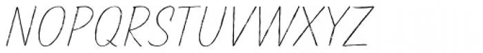 TT Marks Rough Thin Font UPPERCASE