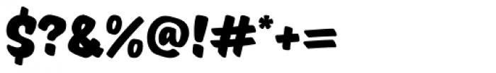 TT Masters Black Font OTHER CHARS