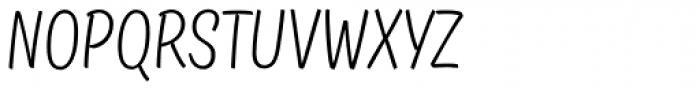 TT Masters Condensed Light Font UPPERCASE