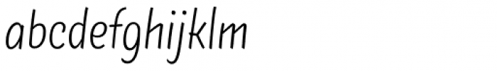 TT Masters Condensed Light Font LOWERCASE