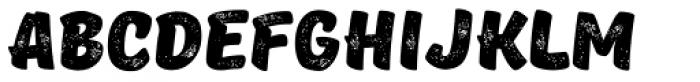 TT Masters Rough Black Font UPPERCASE