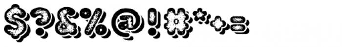 TT Milks Casual Shadow Three Font OTHER CHARS