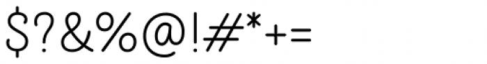 TT Milks Script Light Font OTHER CHARS