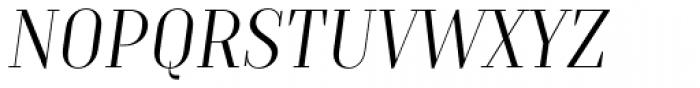TT Moons Light Italic Font UPPERCASE