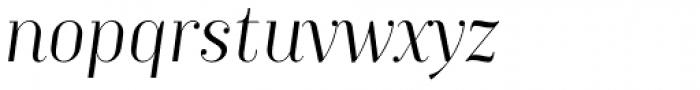 TT Moons Light Italic Font LOWERCASE