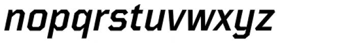 TT Mussels Demi Bold Italic Font LOWERCASE