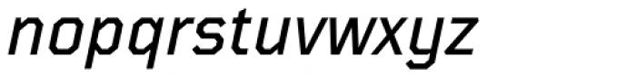 TT Mussels Medium Italic Font LOWERCASE