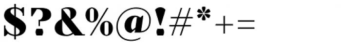 TT Nooks Black Font OTHER CHARS