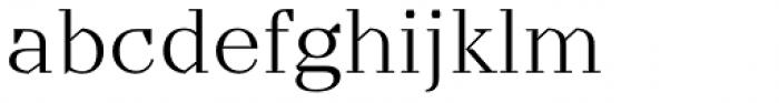 TT Nooks Light Font LOWERCASE