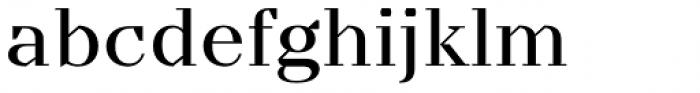 TT Nooks Regular Font LOWERCASE