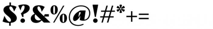 TT Nooks Script Black Font OTHER CHARS