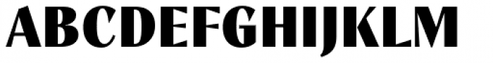 TT Nooks Script Black Font UPPERCASE