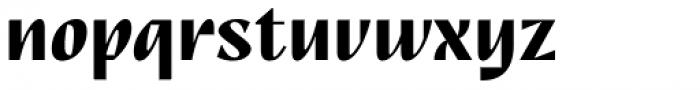 TT Nooks Script Bold Font LOWERCASE