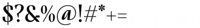 TT Nooks Script Regular Font OTHER CHARS