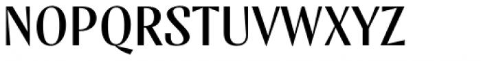 TT Nooks Script Regular Font UPPERCASE