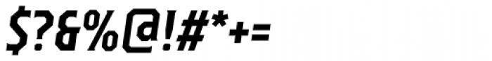 TT Octas Bold Italic Font OTHER CHARS