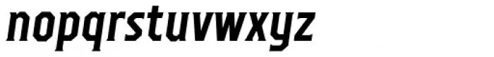 TT Octas Bold Italic Font LOWERCASE