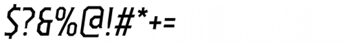 TT Octas Italic Font OTHER CHARS