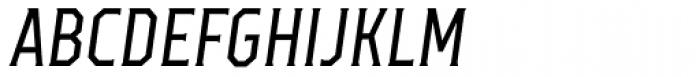 TT Octas Italic Font UPPERCASE