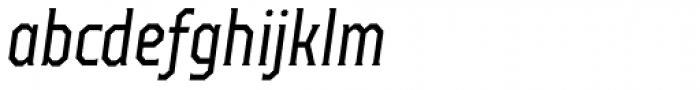 TT Octas Italic Font LOWERCASE