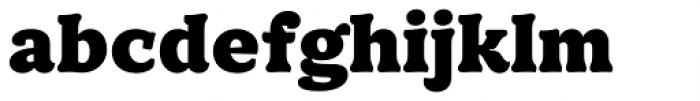 TT Phobos Black Font LOWERCASE