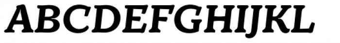 TT Phobos Bold Italic Font UPPERCASE