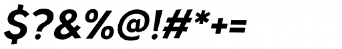 TT Pines Bold Italic Font OTHER CHARS