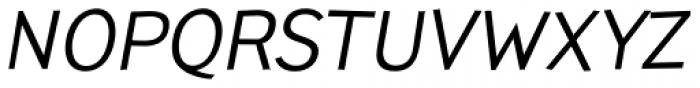 TT Pines Italic Font UPPERCASE